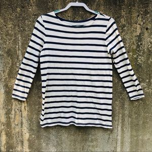 Old Navy Relaxed Mariner Stripe Top